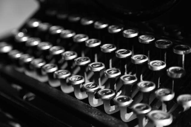 An old typewriter spoke to me... remages